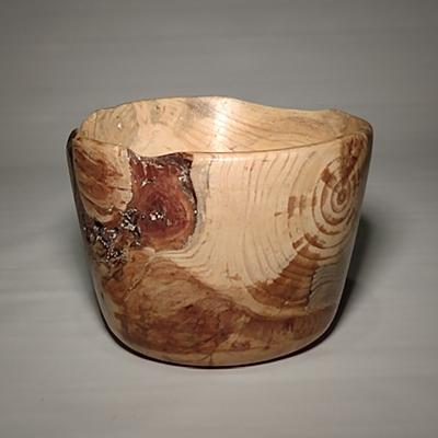 Allan Dickman Jack Pine burl bowl