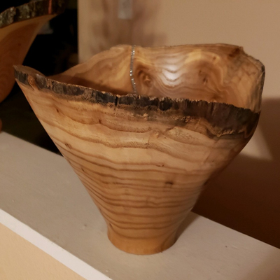 Pecan Wood Turning by Keith